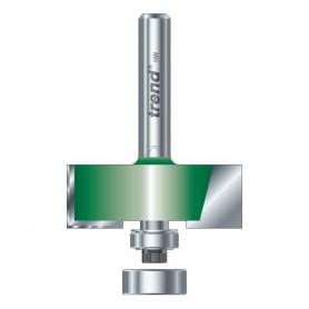 Fraise à feuillures autoguidée - coupe 35mm de diamètre x 12,7mm