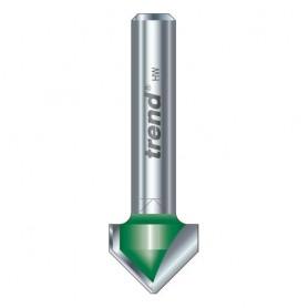 Chanfrein 45 degrés x 12,7mm de diamètre