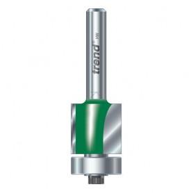 Fraise à affleurer avec guidage par roulement - diamètre 12,7mm