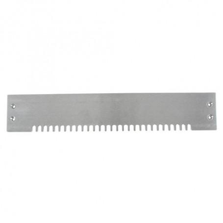 Peigne assemblage à queues d'aronde demi-cachées 6,35mm