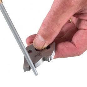 Lime diamantée format stylo Ronde à grain fin