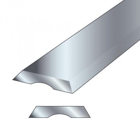 Paire fers de raboteuse 82x5x1,2mm