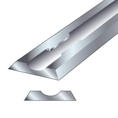 Paire fers de raboteuse 80,5x5,9x1,2mm