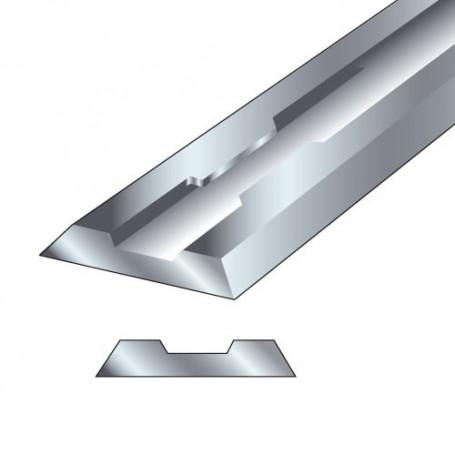 Paire fers de raboteuse 82x5,5x1,1mm