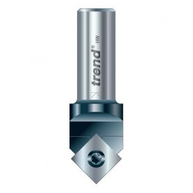 Fraise à rainure en V à plaquette rotative - diamètre 17 mm