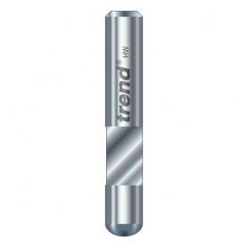 Fraise à affleurer économique - diamètre 6,3mm, longueur 10mm