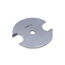 Fraise à rainurer - voie 5,0mm, alésage 6.35mm