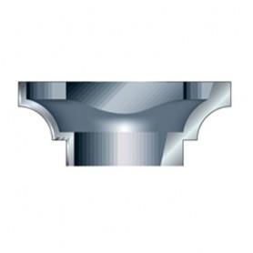 Tête porte-lames à profiler pour PSC/107X1/2TC concave