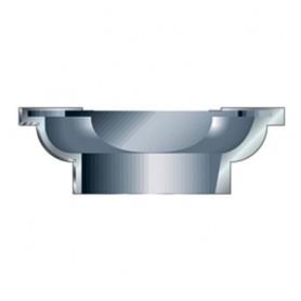 Tête porte-lames à profiler pour PSC/107X1/2TC convexe